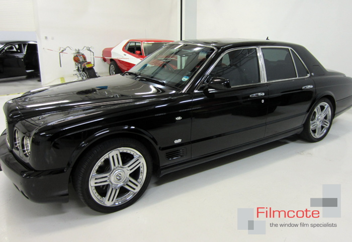 Car Window Film from Filmcote on Bentley