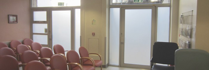 Frosted Window Film from Filmcote