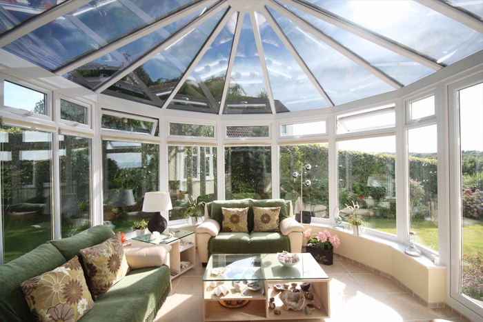 Glass Conservatory Roof Film from Filmcote