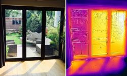 Solar Film Heat Map from Filmcote