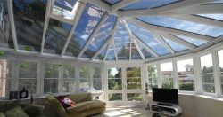 Conservatory After Window Film Application