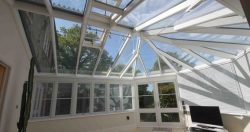 Conservatory before Window Film Application