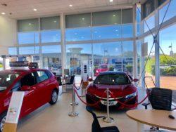 Solar Window Film solutions at Car Dealership