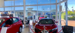 Solar Window Film solutions at Car Dealership